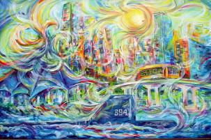 Offical Riverfest Painting - 2007